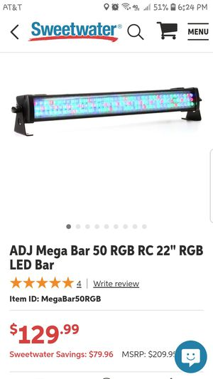 Dj light for Sale in Fresno, CA
