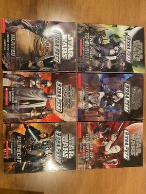 Boba Fett Complete 6 Book Series for Sale in Falling Waters, WV
