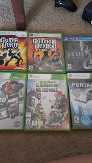 5 Xbox 360 games 1 ps4 game for Sale in Fresno, CA