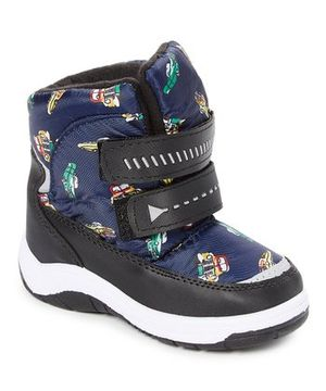 Adorababy Blue Cars Snow Boot - Boys, Size: Little Kid 11 for Sale in Rochester, NY
