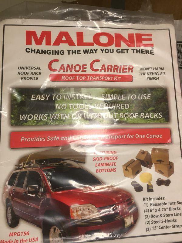 Canoe car carrier