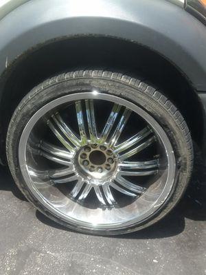 22 inch rims for Sale in Collinsville, IL