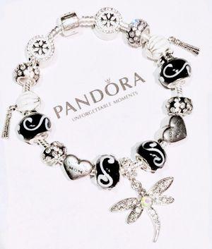 Iconic Pandora 925 I Love Mom Bracelet for Sale in Marysville, WA