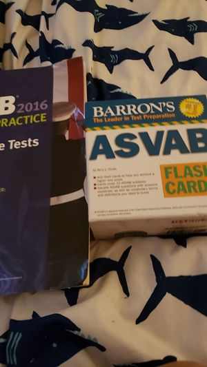 Asvab cards and book for Sale in Clovis, CA