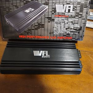 AMERICAN BASS VFL 1000WATTS 4 CHANNEL AMPLIFIER PERFECT FOR DOOR SPEAKERS, TWEETERS, HORN DRIVERS AND MORE for Sale in The Bronx, NY