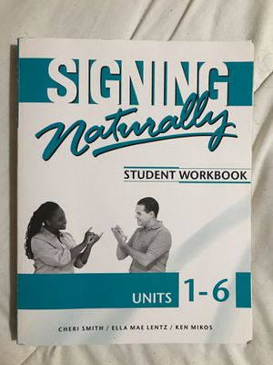 ASL textbook for Sale in Phillips Ranch, CA