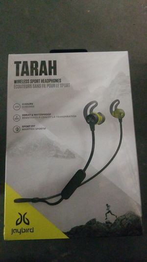 TARAH by jaybird wireless sport headphones for Sale in Nashville, TN