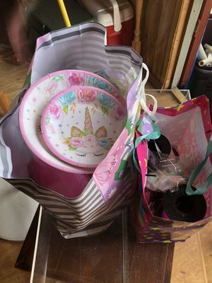 Unicorn party supplies for Sale in Chesnee, SC