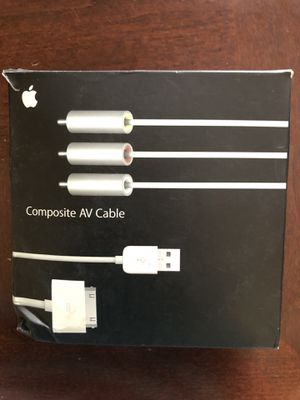 Apple TV connection for iPhone 4 & 3; iPad 1, 2, 3; iPod Nano 5th & 6th; iPod Touch 3rd & 4th Generation for Sale in Las Vegas, NV