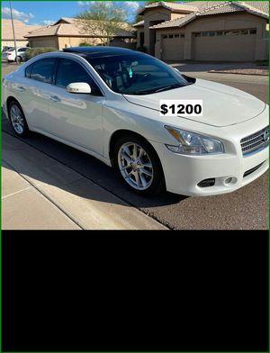 Price$1200 NissanMAxima2009 for Sale in Morgantown, WV