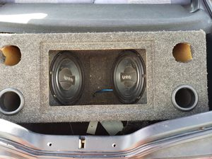 2 infinity 10 inch subs in box excellent condition for Sale in Grottoes, VA