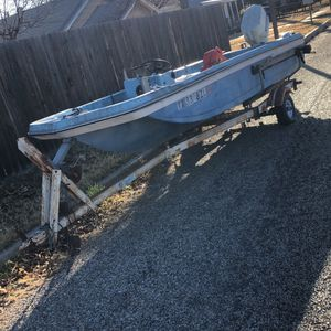 Working Boat Plus Trailer for Sale in San Angelo, TX