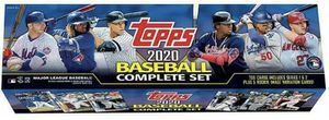 New factory Sealed 2020 topps complete set 1&2 with 5 rookie Variations for Sale in Queens, NY