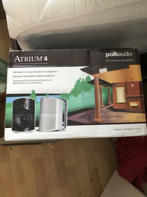Polk Audio Atrium 4 Speakers for Sale in Atlanta, GA