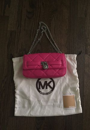 Michael Kors Pink Quilted Leather shoulder bag for Sale in Olney, MD
