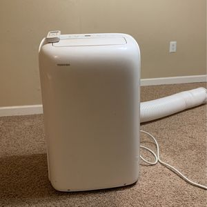 8,000 BTU (6,000 BTU, DOE) 115-Volt Portable AC with Dehumidifier Function and Remote Control in White for Sale in Redmond, WA