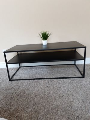 New Black modern metal Coffee table for Sale in Roseville, CA