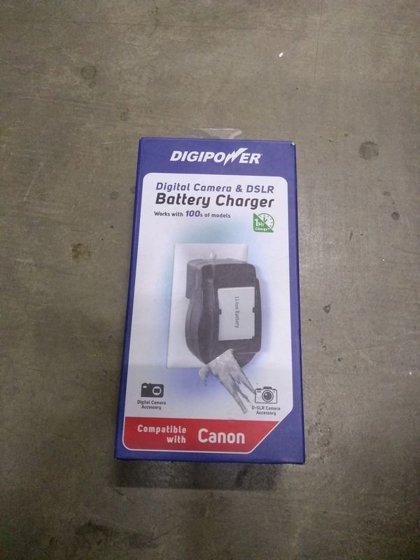 Battery Charger For Canon QC-500CN Digital Camera and DSLR DIGIPOWER