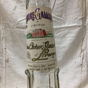 Vintage Galliano Bottle With Tapper And Display for Sale in Little Falls, NJ