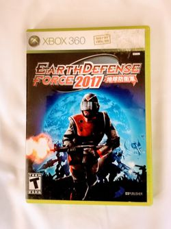 EARTH DEFENSE FORCE 2017 for Sale in Oxnard, CA