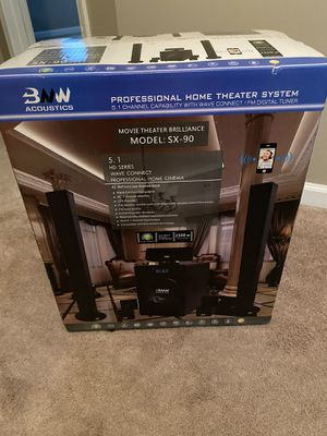 Brand New in Boxes Projector Screen, Projector and Home theatre surround sound! for Sale in Tucker, GA