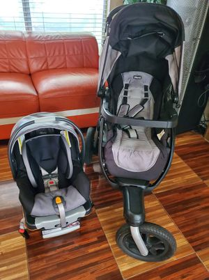 chicco activ3 stroller with car seat for Sale in Palmdale, CA