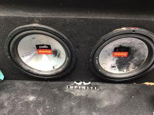 Polk momo 12a and alpine 450 mpr for Sale in Richmond, VA