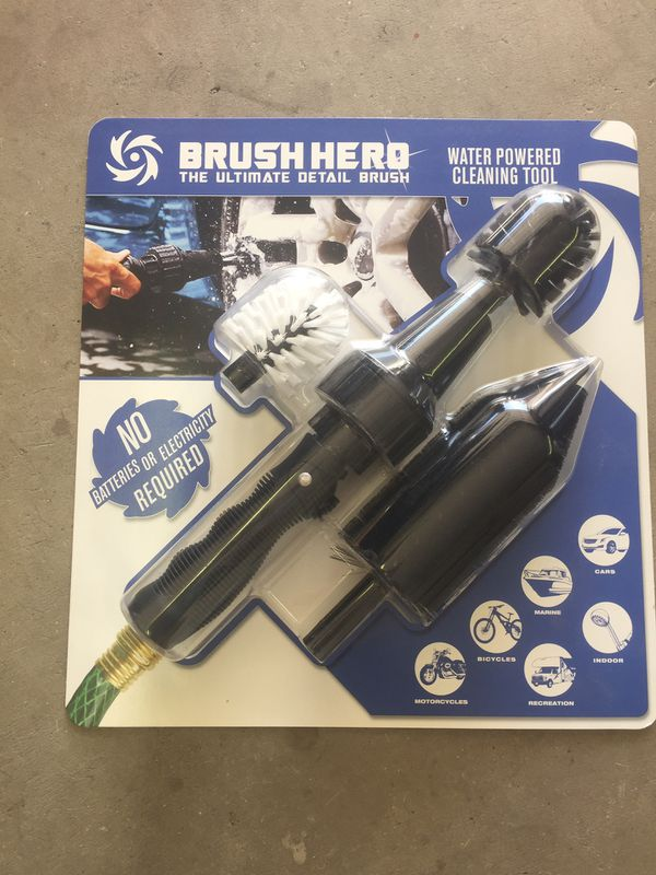 Brush hero powered car cleaner RV MOTORCYCLE BOAT
