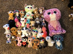 Beanie boo stuffed animals for Sale in Oceanside, CA