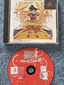 Dragon Ball Z Ultimate Battle 22 PS1 PlayStation PSONE Japan Import AUTHENTIC for Sale in Fort Lauderdale,  FL
