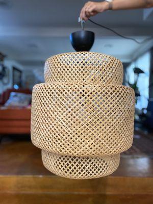 Ikea Sinnerlig Bamboo Pendant Light for Sale in Tempe, AZ