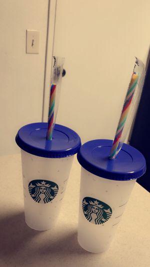 Brand New Starbucks Confetti Cups for Sale in Los Angeles, CA