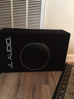 Jl audio amp and sub for Sale in Knoxville, TN
