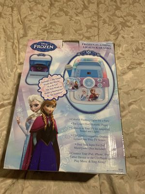 Frozen Disney Lights Karaoke System Player $45 for Sale in Winter Garden, FL