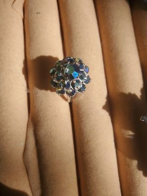 Blue reflective ring for Sale in Longbranch, WA