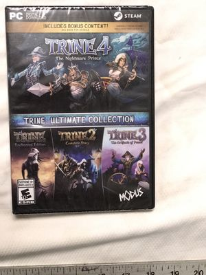 Pc game: Trine ultimate collection STEAM for Sale in Chandler, AZ