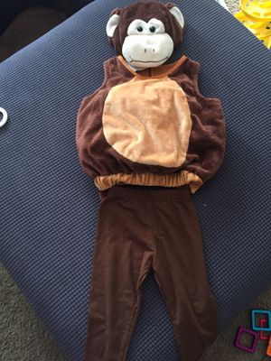 Halloween monkey costume baby for Sale in Columbus, OH