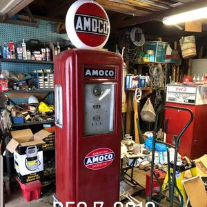 AMOCO, VINTAGE GAS PUMP for Sale in Guttenberg, IA