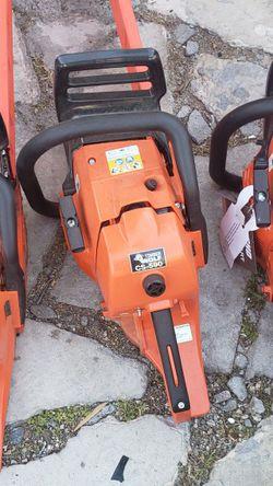 3 MOTOSIERRAS ECHO NUEVAS MOTOR 590 NAVAJA 25 X LAS 3 SON MISMO SAE for Sale in Garden Grove,  CA