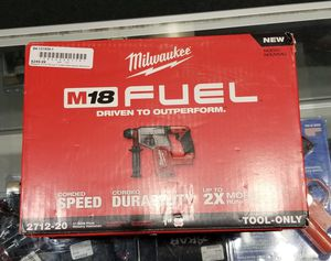 Milwaukee Rotary Hammer Drill for Sale in Orlando, FL