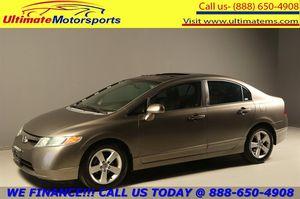 "2008 Honda Civic 2008 EX SUN LEATHER 16""ALLOYS CRUISE XENONS for Sale in Houston, TX"