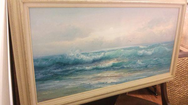 "Art painting. 54"" x32"""