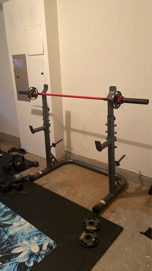 Golds Gym Squat/Bench rack for Sale in Sterling, VA