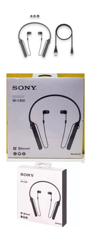 Sony Bluetooth Headphones with hands free calling 20 hours of music listening without charging for Sale in Irving, TX
