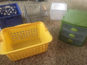 Set of five storage containers for Sale in Littleton, CO