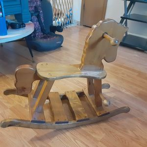 Wooden Rocking Horse for Sale in Imperial, MO