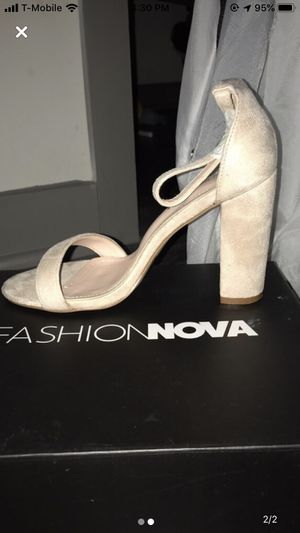 """FashionNova """"Go with Everything Heels"""" - Nude for Sale in Arlington, TX"""