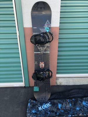 """K2 Darkstar 159"""" Snowboard, Forum Republic bindings and Kore Bag for Sale in Cerritos, CA"""