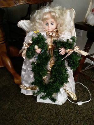Christmas animated doll perfect vintage works great for Sale in Las Vegas, NV