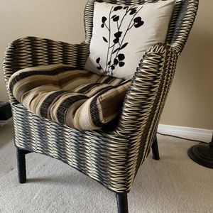 Pier One Wicker Chair for Sale in Vancouver, WA